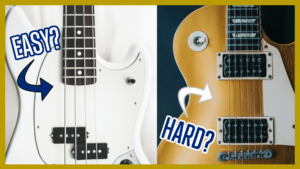Read more about the article Is Bass Easier to Learn than Electric Guitar?