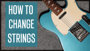 Read more about the article How to Change Electric Guitar Strings – 7 Easy Steps